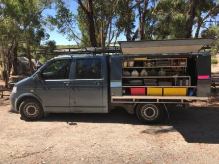 Vw t5 transporter 4motion cab chassis
