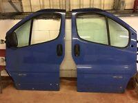 Renault traffic front doors