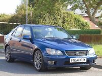 Lexus IS 200 2.0 SE 4dr,AUTOMATIC,2 OWNERS,GOOD SERVICE,LONG MOT,EXCELLENT DRIVE
