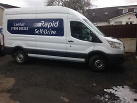 FORD TRANSIT AND DRIVER FOR HIRE