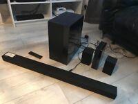 Samsung HW-K450 soundbar + rear surround speakers