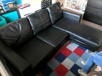 Sofa with long cushion