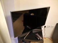 Samsung 40 inch 3d tv with broken screen