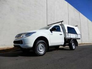 2015 MITSUBISHI TRITON  SINGLE CAB TRAY BACK $22,888 DRIVE AWAY!! Bell Park Geelong City Preview
