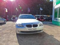BMW 5 SERIES 520d SE Touring - FULL SERVICE HISTORY (silver) 2007