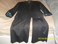 ladies gray striped suit from Slater size 12 for sale