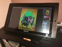 [USED] Bosto Kingtee 22HDX (Digital drawing tablet)