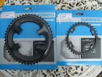 SHIMANO ULTEGRA Front Chain Rings and KMC Chain / Would cost £160 new