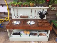 Kids Mud Kitchen hand made for sale, £265 ONO.