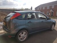 Ford Focus Automatic 1.6 Zetec - reliable good runner