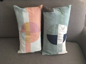 2 New west elm sari cushion