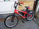 "BOYS 20"" WHEEL BIKE IN GOOD WORKING CONDITION AGE 7+"