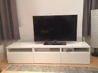 IKEA Besta TV storage combination, white
