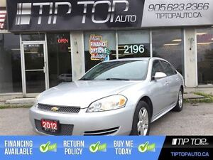 2012 Chevrolet Impala LS ** Leather/Heated Seats, Alloy Wheels,