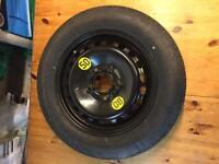 T 125 / 90 R15 Michelin space saver spare wheel bmw