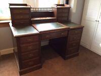 Sold - Mahogany Writing Desk