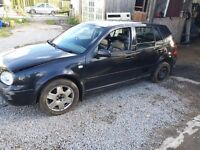 Breaking mk4 golf pd130