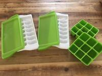 Freezer trays for weaning