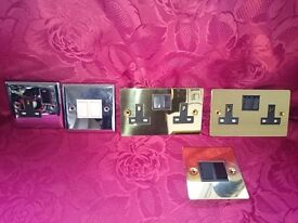 Volex Accessories 250v Metal-clad wall-switches and sockets - NEW