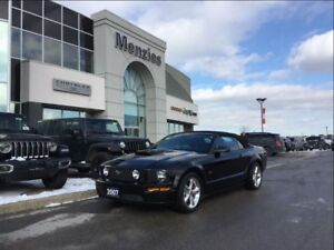 2007 Ford Mustang GT, Convertible, Leather, Clean Carproof