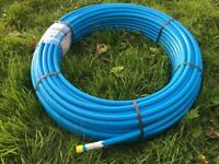 20mm MDPE Blue Pipe Coil x 100m