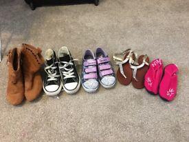 Girls size 10 shoe bundle