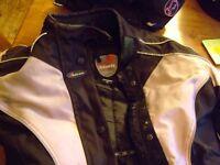 Ladies motorcycle Duchini kevlar jacket