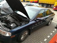 2003 VOLVO S80 D5 2.4 163BHP faulty gearbox SALE AS FOR SPARES OR REPAIR