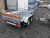 BRAND NEW MODEL 8.2X4.3 DOUBLE AXLE MASTER HEAVY DUTY TRAILER 1300KG