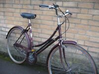 Large Raleigh Cameo town bike| 21'' | Serviced | Central Oxford | Warranty