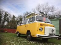 Westfalia Helsinki 1977 T2 Campervan, original interior and major restoration