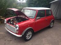 Classic Austin Rover Mini Racing Flame Red Project