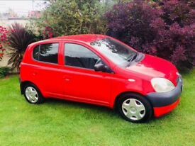 Toyota Yaris 1.0 VVTi low miles mint car