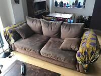 Free comfy brown sofa