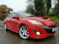 (Velocity Red) May 2010 Mazda 3 MPS 2.3 Turbo 258bhp Sport Hatch! STUNNING CAR! Only 37000 MILES!
