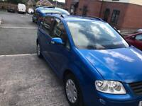 Vw touran 7 seater 1.6 petrol