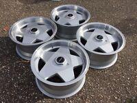Borbet A deep dish alloy wheels, 5x112, Vw Mercedes Audi
