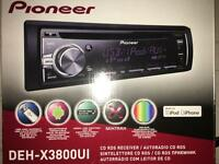 Pioneer Car radio x38000UI