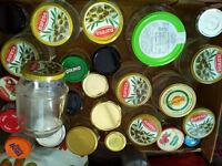 GLASS JARS for Jam Preserve Storage – FREE!