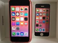 iPhone 5c EE / Virgin pink Excellent condition boxed