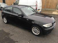 BMW 1 SERIES 116i 5 DOOR 2007 BLACK