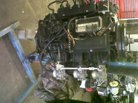 FORCE 150 HP POWERHEAD DROP ON COMPLETE 5 CYLINDER