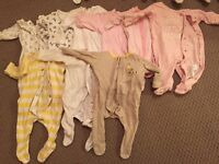 Huge bundle of tiny baby / new born clothes