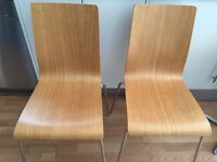 2 Habitat Dining room chairs