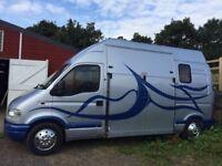 REDUCED TO £7500.00 VAUXHALL MOVANO HORSEBOX