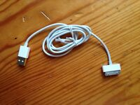 Apple 30 pin to USB Cable 1m