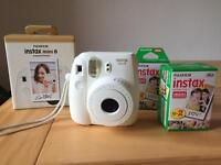 Fujifilm instax mini 8 camera and film