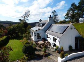 Spacious, detached, large garden, pet friendly, idyllic 2-3 bedroom cottage, Dornoch Area £700 pcm.