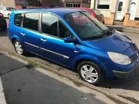 Renault grand scenic 1.6 7 seater cheap car