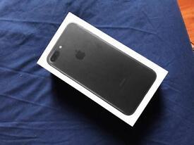 Iphone 7 plus 256gb unlocked brand new condition fully box